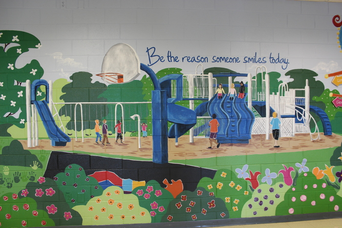 Health and Wellness Mural
