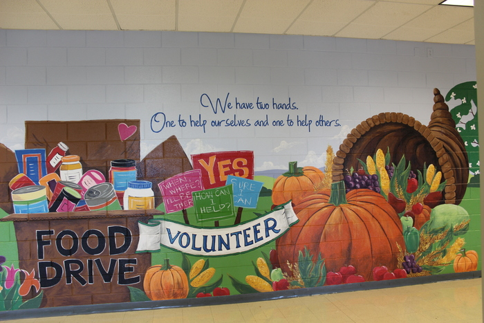 Community Service Mural