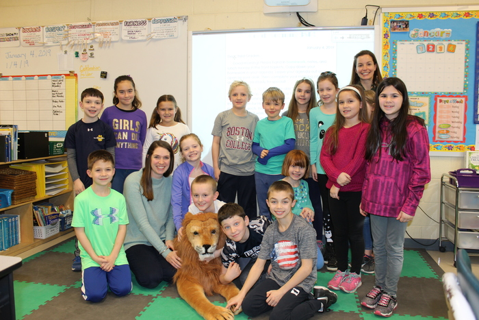 Ms. Piesla and Ms. Stark's Class with Leo