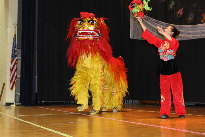 The Lion Dance!