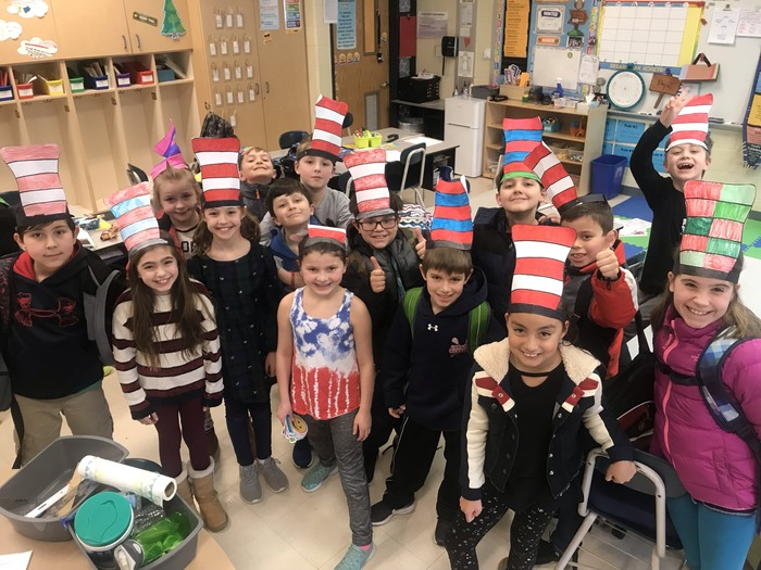 We love Dr. Seuss!