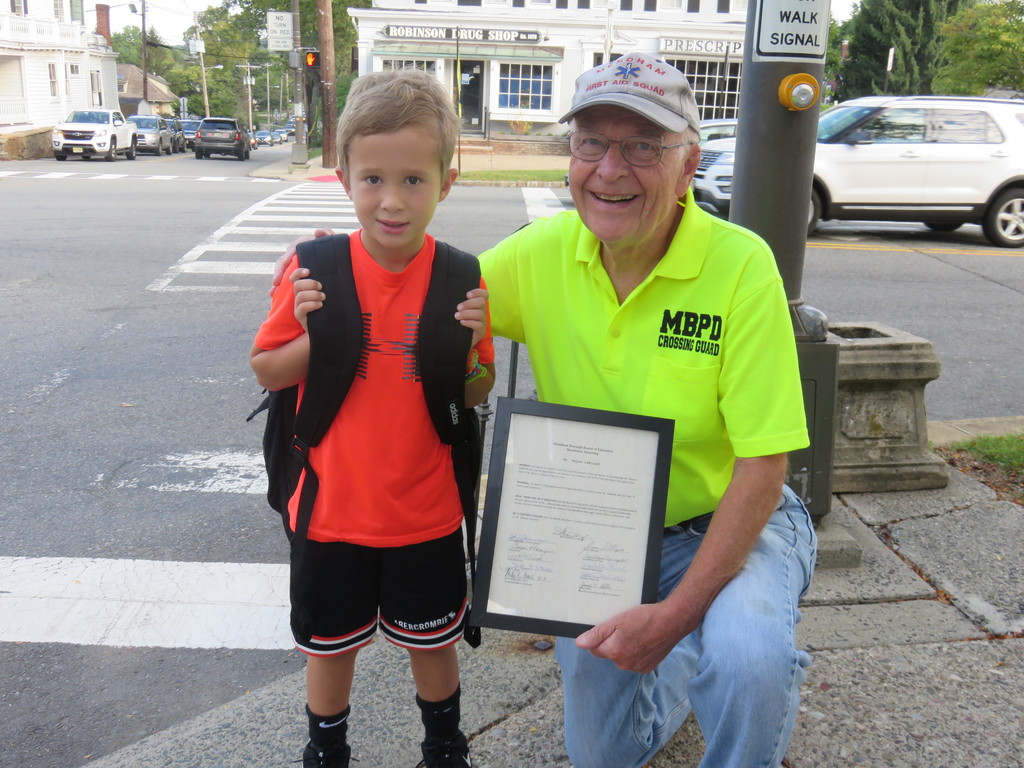 Crossing Guard Mr. Wayne LeBlond