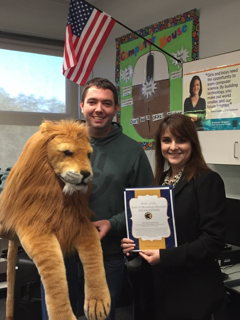 Order of the Lion - October Recipient