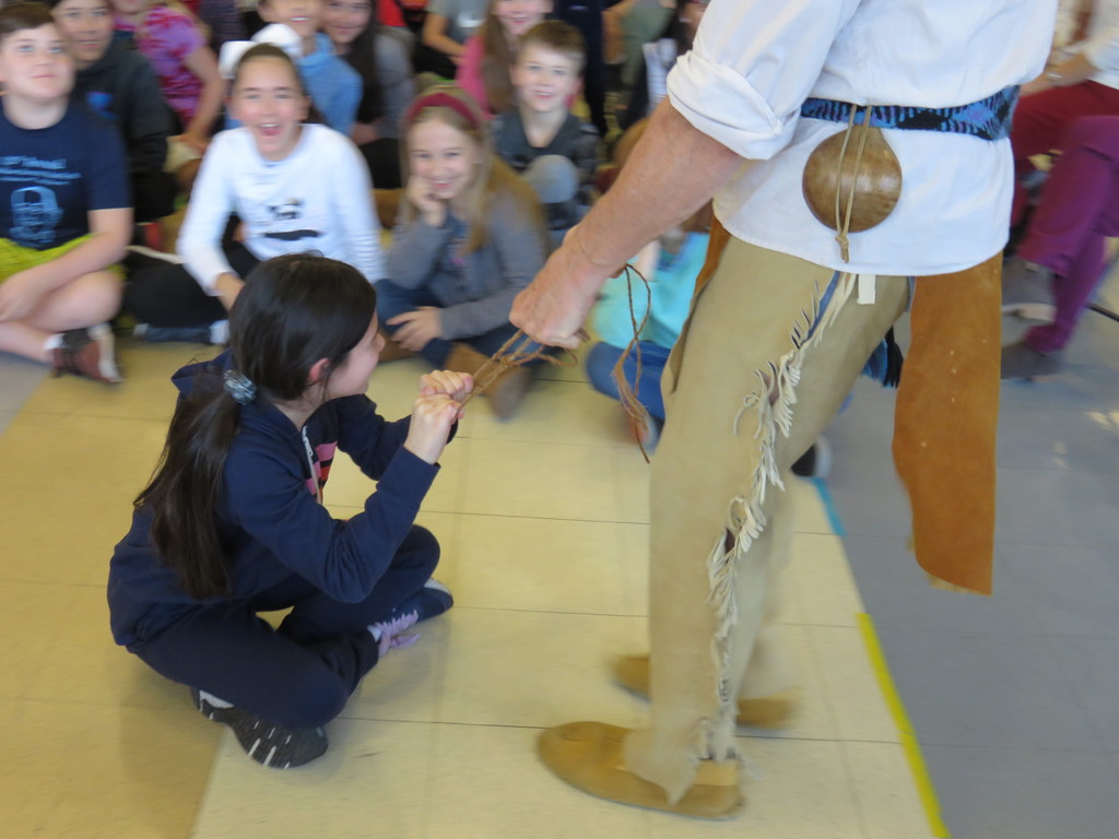 Native Americans used tree fibers to make strong rope.
