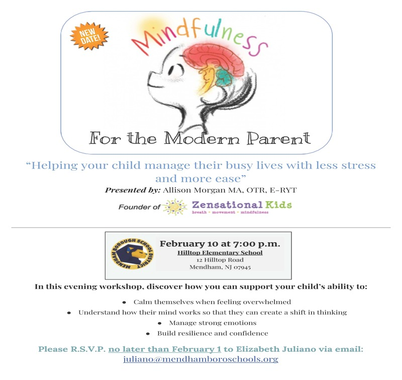Mindfulness For the Modern Parent Workshop - New Date