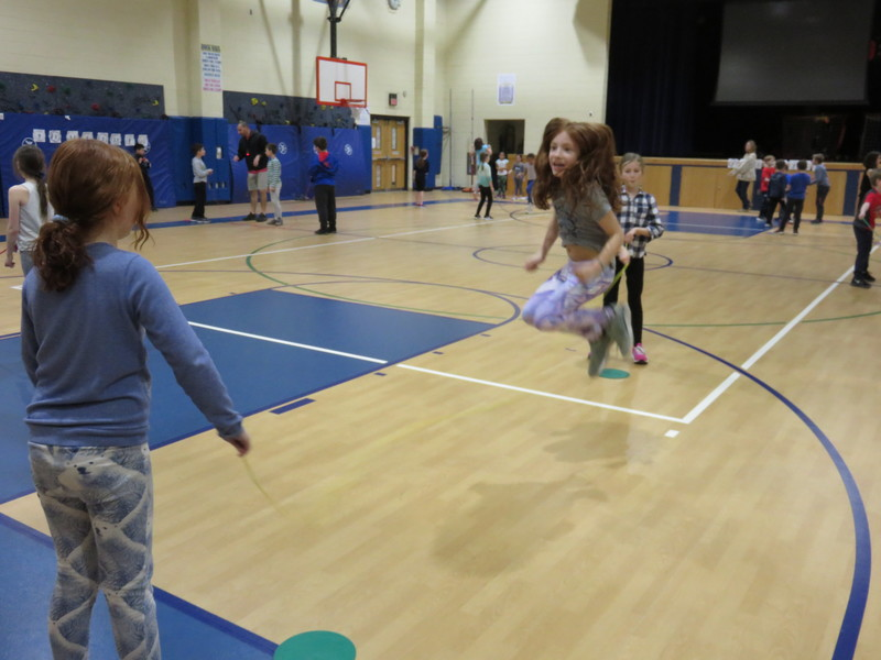 Hilltop 3rd Graders Jump Rope for Heart
