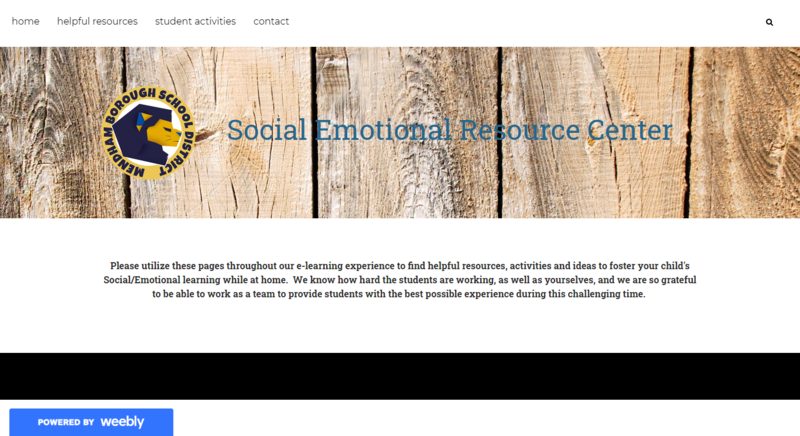 Mendham Borough School District Social Emotional Resource Center