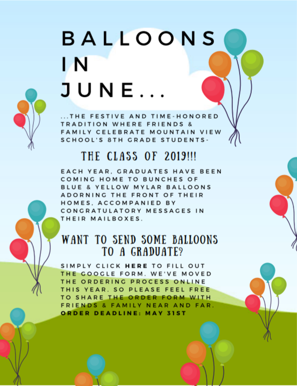 Balloons in June