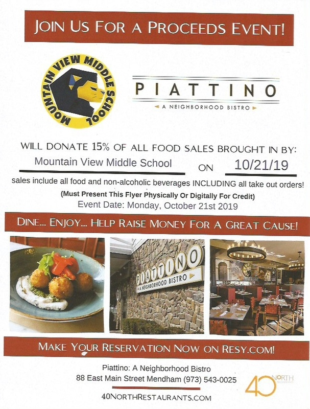 Proceeds Night at Piattino's