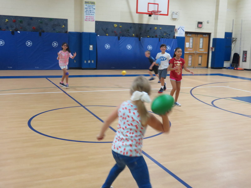 4th Grade Physical Education Fun
